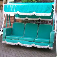 A swing seat from in the 1950s - as good as the day it was first made! - Mr and Mrs Archer