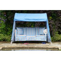 Blue & Blue Brown Stripe Cover Set